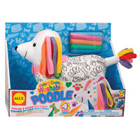 Alex Color & Cuddle Washable Poodle