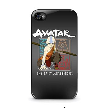 avatar last airbender iphone 4 4s case cover  number 2