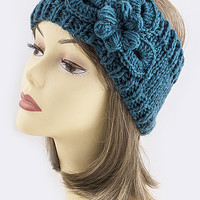 Crochet Knit Headwrap