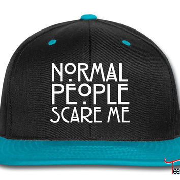 Normal People Scare Me Snapback