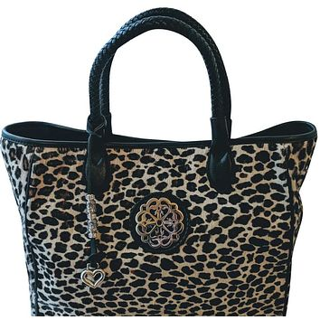 Brighton Seraphine Hair-On Tote w/Charms