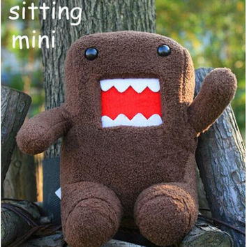 20cm DomoKun Funny Domo-kun Doll Children Novelty Item Creative Gift the Kawaii Stuffed Plush Toy for Baby kids NTP019E