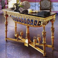 Russian authentic reproduction console table