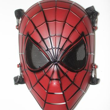 SPIDERMAN TACTICAL GEAR PAINTBALL MASK  FULL FACE PROTECTION