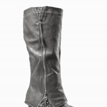 TALL SEQUIN INSET BOOTS
