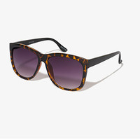 FOREVER 21 F5276 Sunglasses Brown/Black One