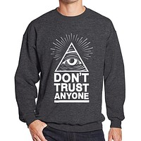 2019 hoodies men sweatshirt spring winter Dont Trust Anyone Illuminati All Seeing Eye printed fashion cool men's sportwear kpop