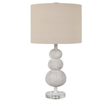 Sea Urchin Table Lamp -- 28-in