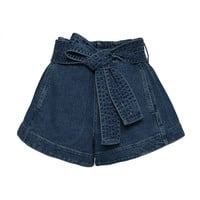 Denim Runner Short | Moda Operandi