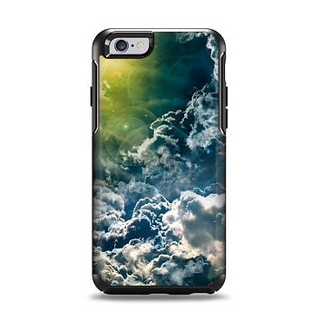 The Bright Sun Over Cloud-Magic Apple iPhone 6 Otterbox Symmetry Case Skin Set