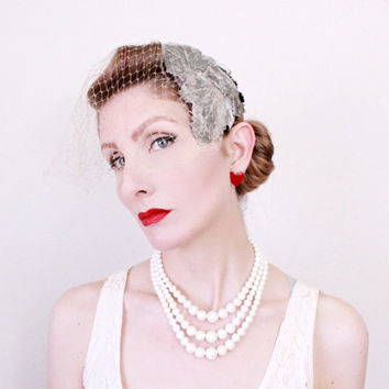 b025a751c Best 1950s Hats With Birdcage Veils Products on Wanelo