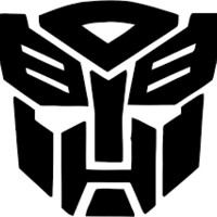 Transformers decal sticker