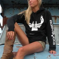 Logo Hoodie - Born Bucks and ReindeerCam Store