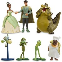 The Princess and the Frog Figure Play Set -- 7-Pc. | Figure Sets | Disney Store