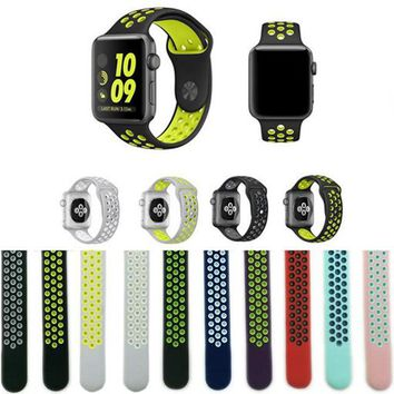 Silicone Band for Apple Watch Sports Series 3&2&1