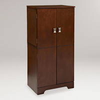 Espresso Alison Jewelry Armoire - World Market