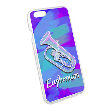 Euphonium - Musical Instrument Music Brass Band Snap On Hard Protective Case for Apple iPhone 6