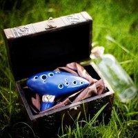 12 Hole Ocarina From the Legend of Zelda By STL Ocarina
