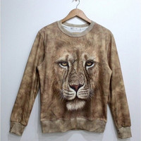 Lovely Lion fleece