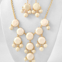 The Couture Candy Store  — Ivory Bubble Necklace