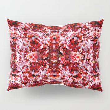 Spring exploit floral pattern Pillow Sham by rodric