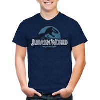 Jurassic World Men's Logo Short Sleeve T-Shirt - Walmart.com