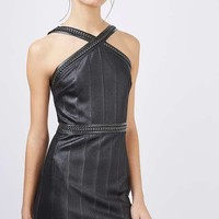 Hardware Strap Bandage Dress