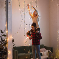 Black Corded Globe String Lights   Urban Outfitters