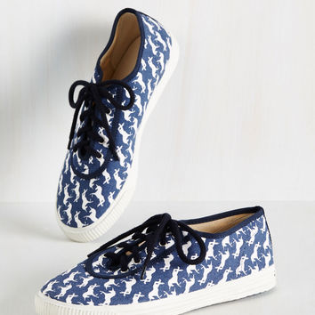 Everyday Energetic Sneaker in Blue Unicorn - Lo-Top