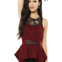 Papaya Clothing Online :: PEPLUM HOT TOP