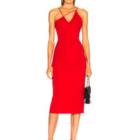 Cushnie et Ochs Karina Dress in Poppy | FWRD