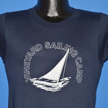 80s Vineyard Sailing Camp t-shirt Small