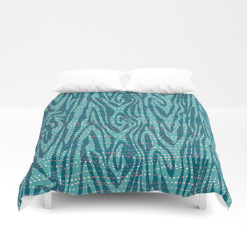 Undercurrent Duvet Cover by Heather Dutton