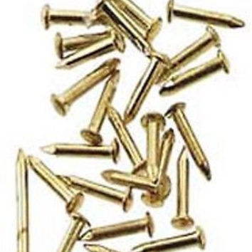 Brass Pin Nails 4mm, 100 pc #HW1129