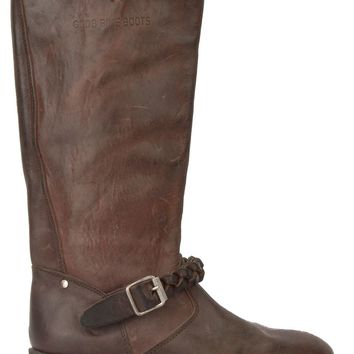 Golden Goose Deluxe Brand buckled riding style boots