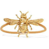Jennifer Behr - Bee gold-tone hair tie
