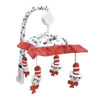 Dr. Seuss's The Cat in the Hat Mobile by Trend Lab (White/Black/Red)