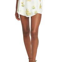 Show Me Your Mumu Floral Ruffle Wrap Front Shorts | Nordstrom