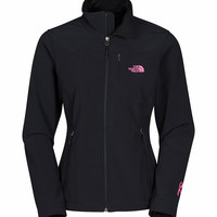 The North Face Pink Ribbon Apex Bionic Jacket for Women in Black CZ23-JK3