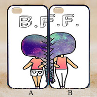 Best Friends,Best Friends Forever,Custom Case, iPhone 4/4s/5/5s/5C, Samsung Galaxy S2/S3/S4/S5/Note 2/3, Htc One S/M7/M8, Moto G/X