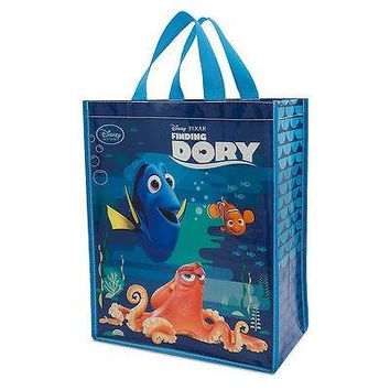 Licensed cool Disney Store Pixar Finding Dory Nemo Hank Shopper Tote Reusable Grocery Bag NEW