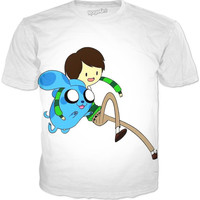 Adventure Time (blues Clues) T-shirt