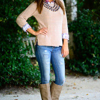 Can't Stop Now Sweater, Blush