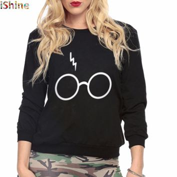 New Bts Kpop Tie Harajuku Pullover Moletom Femme Kawaii Harry Glasses Print Sweatshirts Pocket Bape Top Shirt For Women Outfit