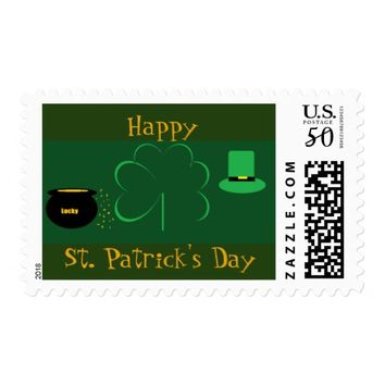 Happy St. Patrick's Day Postage