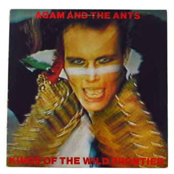 Vintage 80s Adam and The Ants Kings of The Wild Frontier Album Record Vinyl LP