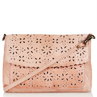 Daisy Perforated Crossbody Bag - Topshop USA