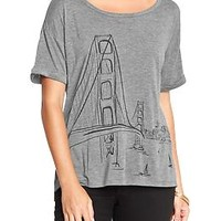 Women's City-Graphic Tees