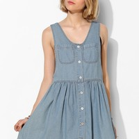Evil Twin Isolation Denim Dress - Urban Outfitters