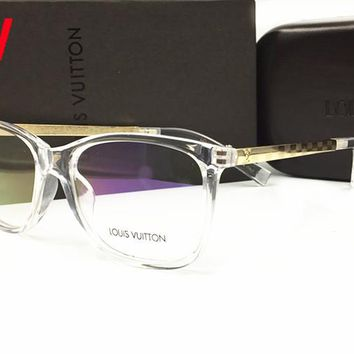 LV Louis Vuitton New HD Night Vision Driving Anti Glare Glasses Eyewear sun glass gun Metal Frame mens womens sunglasses